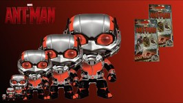 Ant-Man Funko Pop and Dogtags