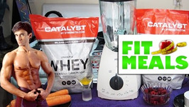 Muscle Building Protein Smoothie Recipe - Fit Meals 6