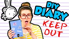 Diary of a Wimpy Kid DIY Journal - Arts and Crafts with Crafty Carol