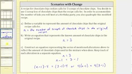 Modeling Change with Equivalent Equations a(x-c)  d