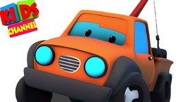 Road Rangers - I am Tow Trucks Sawyer - Tow Truck by Kids Channel