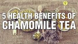 5 Amazing Health Benefits Of Chamomile Tea