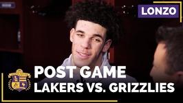 Lonzo Ball On Kyle Kuzma, Brook Lopez, Mike Conley, Lakers Defense
