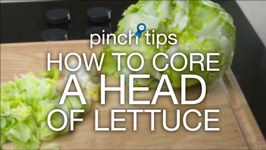 How To Core A Head Of Lettuce