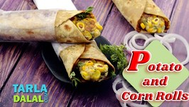 Potato And Corn Rolls
