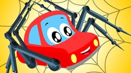 Little Red Car - Incy Wincy - Nursery Rhymes For Children