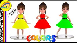 Learn Colors for Kids with Baby Girl - Color Learning Videos - Teach Colors for Babies