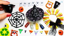10 Easy DIY Halloween Miniature Decorations 2 - Each in less than 1 minute
