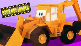 Construction Vehicles  -  Learn Vehicle Names  -  Cartoon Videos For Children