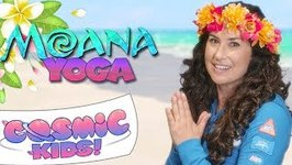 Moana - A Cosmic Kids Yoga Adventure