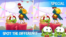 Spot the Difference Ep 13 - Om Nom Stories - Cycle Race