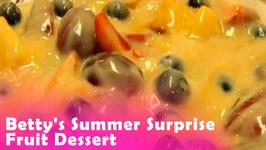 Betty's Summer Surprise Fruit Dessert -- 4th of July