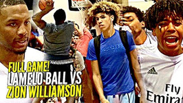 Lamelo Ball Vs Zion Williamson Full Game The Biggest Game Of The Year Made For The Internet