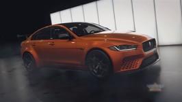 Jaguar XE SV Project 8 Heading For Monterey Week 2017
