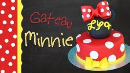 Gâteau Minnie/  Minnie Mouse Cake
