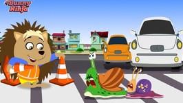 Bunny Ninja Snail Road - Kids Cartoon - Ninja Cartoon