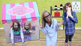 Miss PaDoodle Visits the Toy Doctor !!!