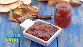Apple Jam With Cinnamon - Vegan And Gluten Free