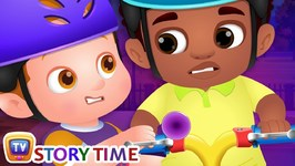 Chika Learns To Ride A Bike - ChuChuTV Good Habits Moral Stories for Kids