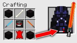 Minecraft How to Craft Darth Vader  Star Wars  Minecraft Console Edition