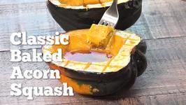 Easy Baked Acorn Squash