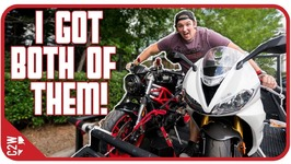 Picking up BOTH of my MOTORCYCLES
