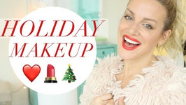Holiday Makeup - Grwm Holiday Easy Drugstore Holiday Makeup