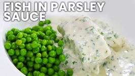 Fish In Parsley Sauce - Classic British Dish