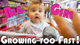 SHE'S GROWING UP TOO FAST! - FAMILY VLOGGERS DAILY VLOG