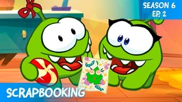 Om Nom Stories- Video Blog - Scrapbooking -St. Valentines Special