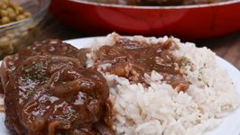 Country Hamburger Steak And Brown Onion Gravy