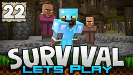 WE HAVE LIFE?-?-?- - Survival Let's Play Ep. 22 - Minecraft 1.2 -PE W10 XB1