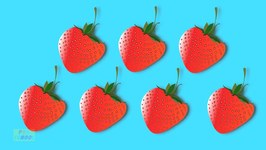 Counting Strawberries - Learn Numbers from 1 to 9