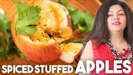 Stuffed Spiced Apples - Fall And Winter Special - Kravings