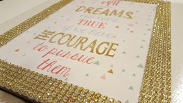 DIY Dollar Tree Picture Tile  Mod Podge Crafts