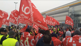 Amazon Workers in Northern Italy Strike Against Working Conditions