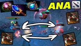 ANA Bounty Hunter - Aghanim Boomerang SHOW - Dota 2