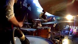 DrumCam - The Slingshots - Cranky Honky - Barcelona, 2017