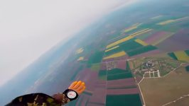 Paratrooper Films High-Altitude Military Skydive