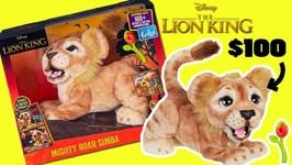 Disney The Lion King Movie (2019) Mighty Roar Simba Toy Unboxing! 100 Hakuna Matata