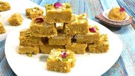 Chickpea Flour Fudge / Magas / Magaj / Besan Barfi Laddu