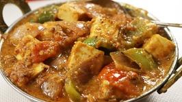Kadai Paneer Recipe - Dhaba Style Kadai Paneer Masala With Gravy - Punjabi Kadhai Paneer