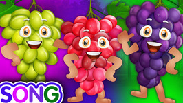 Grape Song  Learn Fruits for Kids-  Original Educational Fruits Songs and Nursery Rhymes