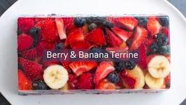 Berry Banana Terrine