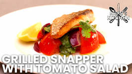 Grilled Snapper With Tomato Salad / Low Carb Recipe