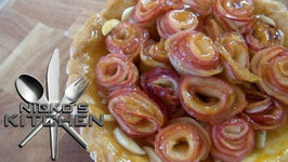 Apple Rose Tart - 12 Days Of Christmas