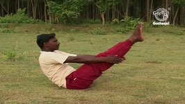 Yoga Exercise for Beginners - Nava Asana - Boat Pose - Cures Digestive Problems