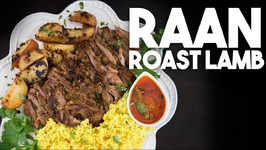 RAAN - Roast Leg Of LAMB With Gravy And Potatoes