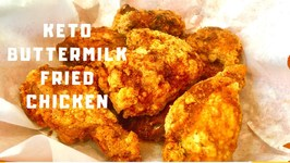 Keto Buttermilk Fried Chicken