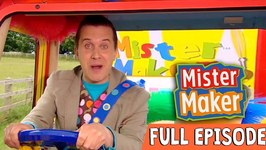 Junk Letter Make - Episode 1 - Full Episode - Mister Maker Comes To Town